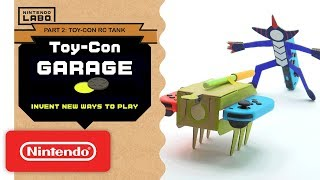 Download Nintendo Labo - Invent New Ways To Play With Toy-Con Garage - Part 2 Video