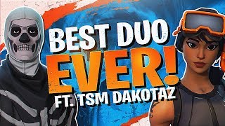 Download BEST DUO EVER! 28 KILLS WITH DAKOTAZ (Fortnite BR Full Match) Video