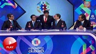 Download ″CLAUDIO PIZARRO″ interrumpe transmisión de la copa américa!! 11/06/15 Video