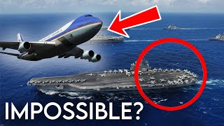 Download Boeing VC-25 (747) Emergency Landing On Aircraft Carrier | GTA 5 Video