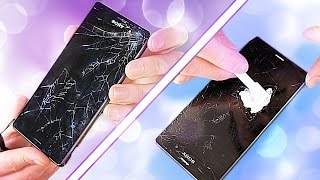 Download Fixing a Smashed Phone Screen - on a budget! (GLASS ONLY REPAIR ATTEMPT) Video