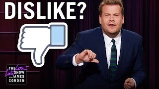 Download James Dislikes the Facebook Dislike Button Video