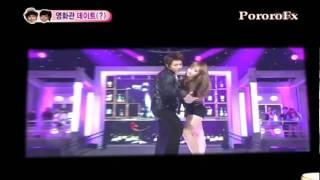 Download Nichkhun gets mad at f(x) Victoria's dance with Super Junior Video