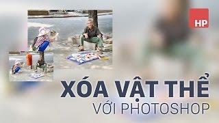 Download Xóa vật thể bất kỳ trong ảnh bằng photoshop | HPphotoshop Video