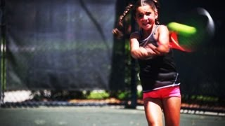 Download Unstoppable 9-Yr-Old Tennis Prodigy! Video