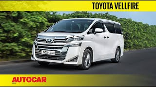 Download Toyota Vellfire Review - The Super-Innova | First Drive | Autocar India Video