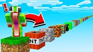 Download JUMPING ON EVERY. SINGLE. MINECRAFT. BLOCK. Video