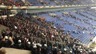 Download Ajax Amsterdam Fans singing Bob Marley's ″Three Little Birds″ after game against Schalke 04 Video
