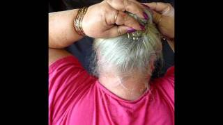 Download Watch Carole's hands as she does each hair style with a Comb Video