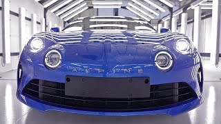 Download Alpine A110 (2018) PRODUCTION Video