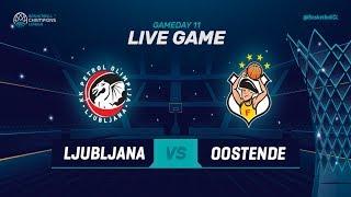 Download LIVE🔴 - Petrol Olimpija v Filou Oostende - Basketball Champions League 2018-19 (Geo-Blocks) Video