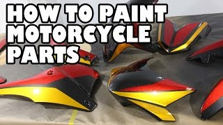 Download How to Spray Paint Motorcycle Parts. Speed T Project Video
