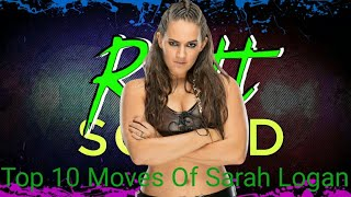 Download TOP 10 MOVES OF SARAH LOGAN#RiotSquad# Video