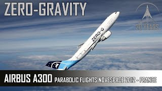 Download Zero G Flight - Parabolic Flight With The Airbus A300 Of Novespace Video