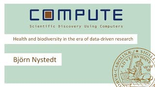 Download Björn Nystedt - Health and biodiversity in the era of data-driven research Video