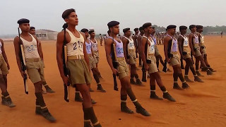 Download Squard Drill Practice.... Dhire chal ...Police Video