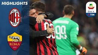 Download AC Milan 2-1 Roma | Cutrone Wins it Late for Milan | Serie A Video