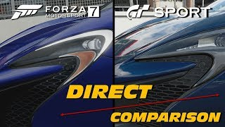 Download Forza 7 vs GTSport | Direct Comparison Video