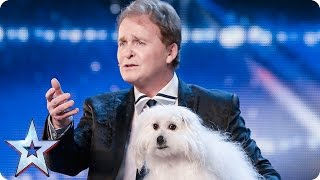 Download Marc Métral and his talking dog Wendy wow the judges | Audition Week 1 | Britain's Got Talent 2015 Video
