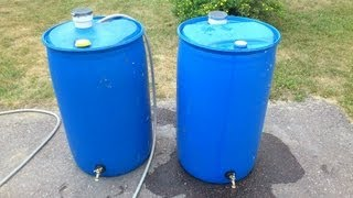 Download How To Make A Rain Barrel Cheap Video