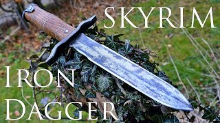 Download Dagger Making - Skyrim: Forging a Real Iron Dagger (Made of Steel) Video