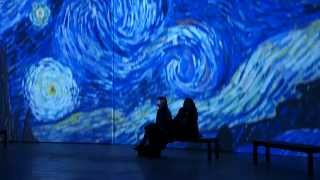 Download Van Gogh Alive Exhibition Video