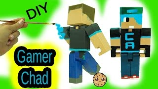 Download DIY Custom Gamer Chad Minecraft Toy - Acrylic Paint Painting Do It Yourself Craft Video Video