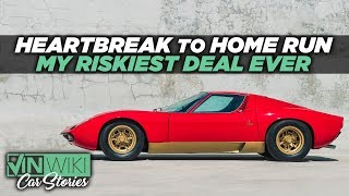 Download Lambo bought back our Miura SV for a mystery celebrity Video