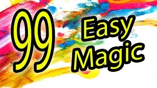 Download 99 Easy magic Tricks to do at home Video