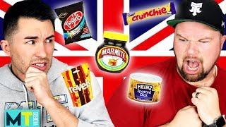 Download Americans Try Weird British Food for the First Time Video