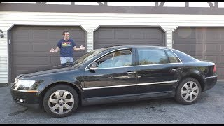 Download The Volkswagen Phaeton W12 Was a $120,000 VW Ultra-Luxury Sedan Video