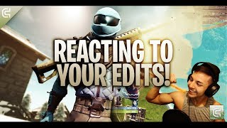 Download REACTING TO YOUR MONTAGES/EDITS LIVE! (READ DESCRIPTION) Video