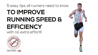 Download 5 easy running tips every runner should know to improve your running technique, speed and distance Video