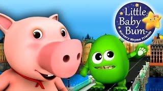 Download London Bridge Is Falling Down   Nursery Rhymes   by LittleBabyBum! Video