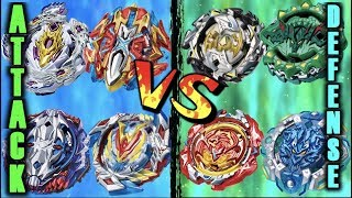 Download Beyblade Attack Types VS Defense Types! | Which is Better? Video
