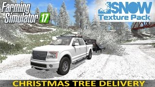 Download Farming Simulator 17 Snow Edition Texture Pack | Christmas Tree Delivery Video