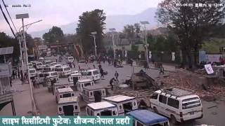 Download LIVE footage of earthquake in Kathmandu Video
