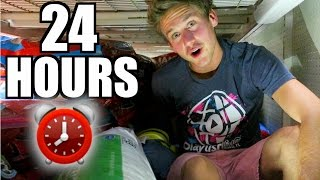 Download 24 HOUR TOILET PAPER FORT! Video