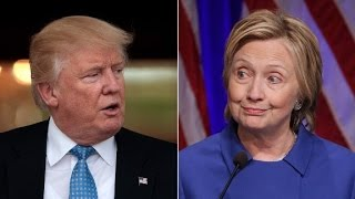 Download Clinton and Trump aides clash Video