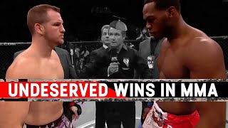 Download The Most Undeserved Wins In MMA Video