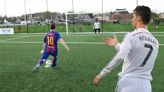 Download CRISTIANO RONALDO VS MESSI - PENALTY SHOOTOUT   IN REAL LIFE! Video