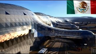 Download Modern Mega-structure: The New International Airport of Mexico City Video