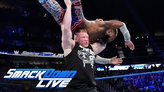 Download Brock Lesnar assaults Kofi Kingston after The New Day's victory: SmackDown LIVE, Sept. 17, 2019 Video
