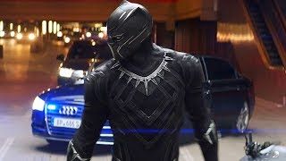 Download Black Panther Chase Scene - Captain America: Civil War (2016) Movie CLIP HD Video