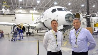 Download Transatlantic Airbus A220-300 Delivery: Air Baltic ULTIMATE COCKPIT MOVIE Montreal-Riga [AirClips] Video