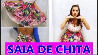 Download FAÇA SEU VESTIDO DE FESTA JUNINA- SAIA DE CHITA SUPER FACIL Video