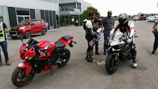 Download Meeting Roshni Misbah The Hijabi Biker | Buddh International Circuit | Ninja H2 | Ninja ZX-10R Video