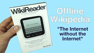 Download WikiReader - Offline Wikipedia ″The Internet without the Internet″ Video