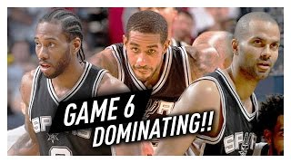 Download Kawhi Leonard, Tony Parker & LaMarcus Aldridge Game 6 Highlights vs Grizzlies 2017 Playoffs - EPIC! Video