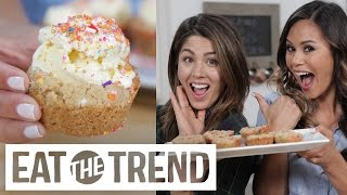 Download How to Make Funfetti Cookie Cups with Megan Batoon! | Eat the Trend Video